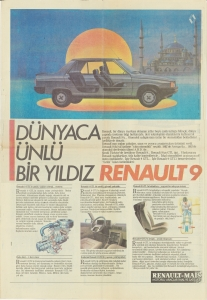 Renault 9 GTL Gazete Reklamı 22